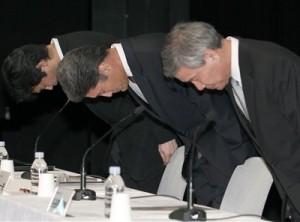 Kazuo Hirai, Shiro Kambe, Shinji Hasejima