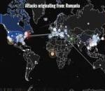 Harta atacurilor cibernetice în timp real