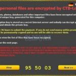 CTB-Locker - malware de tip ransomware